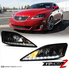 lexus is aftermarket parts 2006 2013 lexus is250 is350 led strip drl smd led headlights