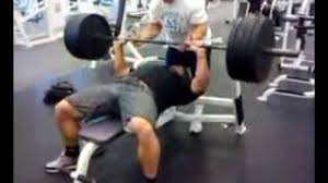 Mike O Hearn Bench Press Bradly Castleberry Benchpressing 405 Pounds For 20 Reps Youtube