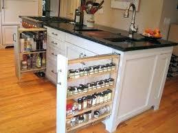 kitchen spice rack ideas kitchen spice racks organizati rack ideas sliding for cabinets