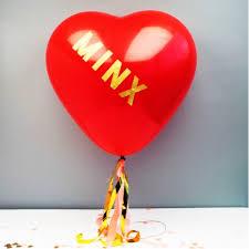 heart balloons heart balloons stickers streamers kit