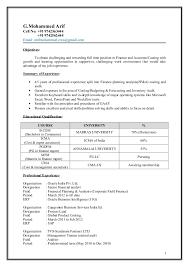 Usa Resume Arif Mohammed Icwa Cma Resume