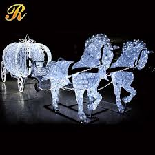 3d acrylic led deer decorations outdoor outdoor buy 3d