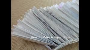 how to make tutu out of paper youtube