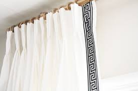 Pinch Pleated Drapes Traverse Rod Bedroom How To Make Pinch Pleated Drapes Unusual Design With