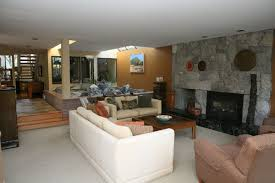 wonderful cozy living room with tv