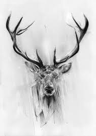 25 beautiful elk tattoo ideas on pinterest geometric elk tattoo