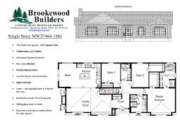 One Story House Plans With Walkout Basement by 100 Lake House Plans With Basement Bat Out Of Basement Home