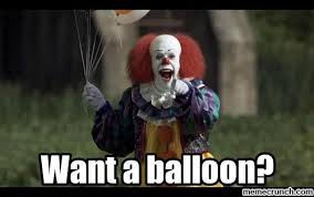Pennywise The Clown Meme - the clown