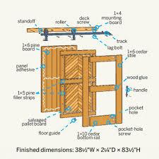 How To Make Barn Stars How To Build A Sliding Barn Door Barn Doors Barn And Doors