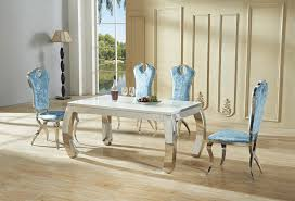 european dining room furniture model room table upscale atmosphere fresh and modern european