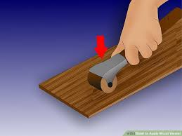 how to apply wood veneer 9 steps with pictures wikihow