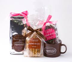 gourmet brownie biscotti gift set premium coffee special