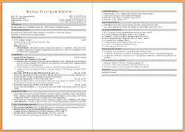 Resume Sample Computer Skills by Two Page Cover Letter Example Of Award Certificate Special