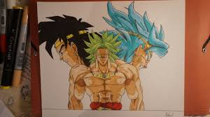 dessin de broly drawing broly youtube