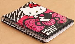 binder photo album hello leopard print glitter ring binder sticker album