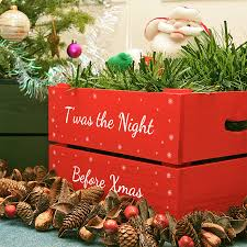 christmas boxes personalised small christmas box by plantabox notonthehighstreet