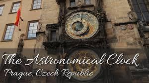 the astronomical clock prague czech republic full hd youtube