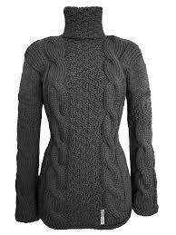 designer strickjacken damen pullover mit alpaca grau mimis casuals strickpullover
