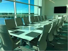 Back Painted Glass Conference Table Enwork Enwork