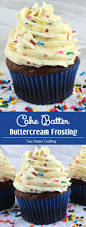 cake batter buttercream frosting sisters crafting