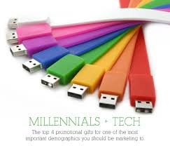 millennials tech our top 4 promotional gifts for tech savvy