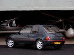 peugeot history fotos peugeot 205 gti realmente precioso cars of 90 s and 80 s