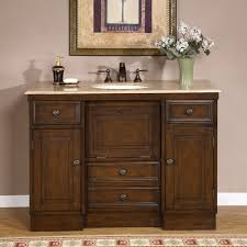 48 Bathroom Vanity With Granite Top Lanza Single Sink Bathroom Vanity With Granite Countertop And