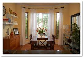 Flexible Curtain Rods For Bay Windows Bay Window Ceiling Mount Curtain Rods Home Design Ideas