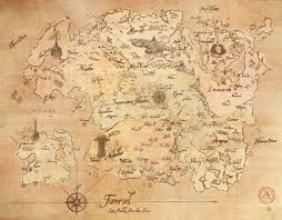 Map Of Nirn Map Of Tamriel Late Middle Merethic Era By Iceflame542 On Deviantart