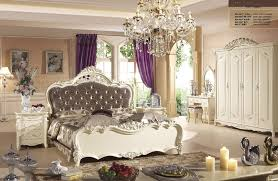 bed and side table set high class french noble new style bedroom furniture sets with bed