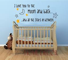 to the moon and back baby nursery shop by room