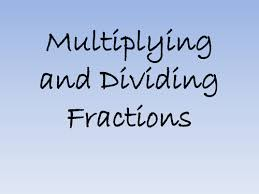 ks3 multiplying and dividing fractions powerpoint by bcooper87