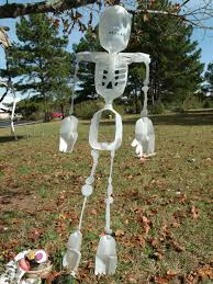 milk jug halloween crafts the happy clown with a frown milk jug skeleton