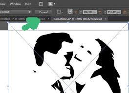 imagen blanco y negro en illustrator tutorial básico para manipular la tipografía en illustrator esandra