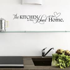 Wall Stickers Home Decor Cu3 New Kitchen Home Letter Heart Pattern Pvc Removable Wall