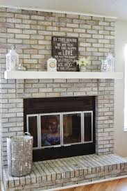 it mom world how to white wash your fireplace wall unit stone