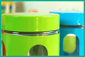 blue green orange glass canisters set of 3 kitchen sugar tea