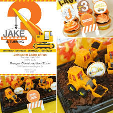 construction party ideas i dig you construction party guest feature celebrations at home