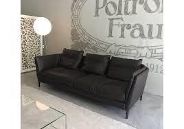canapé poltrona frau ex display bretagne poltrona frau sofa milia shop