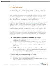 President Obama Resume Social Media Strategy For Government Organizations