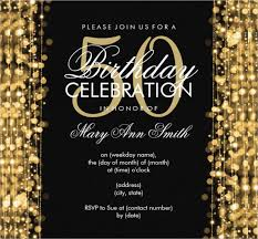 50th birthday invitation templates free printable fifty and