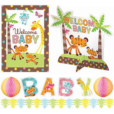 amazon com adorable fisher price baby shower party jungle animal