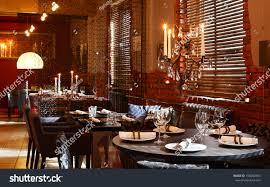 new clean luxury restaurant european style stock photo 156082364