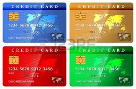 customized debit cards credit or debit card design template vector illustration royalty