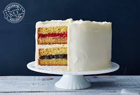 Flag Cakes Martha Stewart U0027s Easy Flag Cake Recipe For 4th Of July People Com