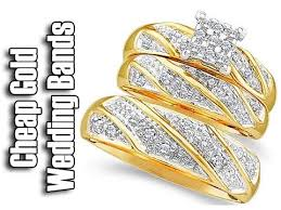 gold wedding rings cheap gold wedding bands matching wedding bands his and hers