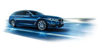 bmw 5 series touring at a glance