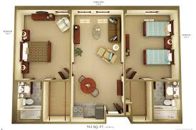Efficient Floor Plans by 28 Simple Apartment Floor Plans Simple Two Bedroom House