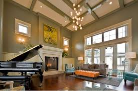 Lighting For Living Room With High Ceiling Lighting Ideas For High Ceilings Gorgeous 15 Awesome High Ceiling