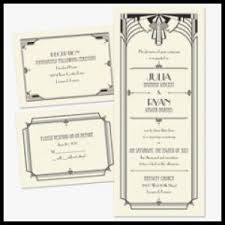 art deco wedding invitations unique art deco arch 3 for 1